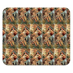 Autumn By Alfons Mucha 1896 Double Sided Flano Blanket (Small)