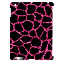 SKN1 BK-PK MARBLE (R) Apple iPad 3/4 Hardshell Case (Compatible with Smart Cover)