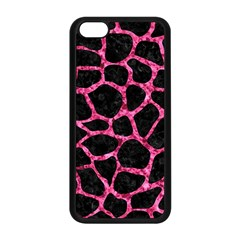 SKN1 BK-PK MARBLE (R) Apple iPhone 5C Seamless Case (Black)