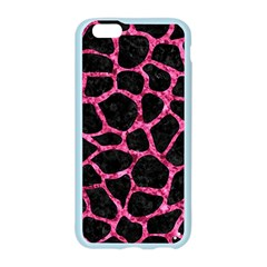 SKN1 BK-PK MARBLE (R) Apple Seamless iPhone 6/6S Case (Color)