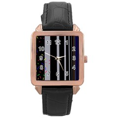 Harmony Rose Gold Leather Watch