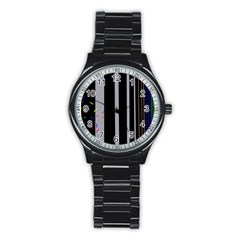 Harmony Stainless Steel Round Watch