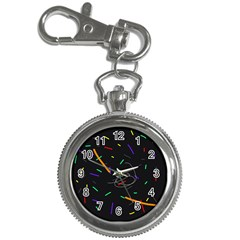 Colorful beauty Key Chain Watches