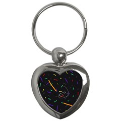 Colorful beauty Key Chains (Heart)