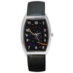 Colorful beauty Barrel Style Metal Watch