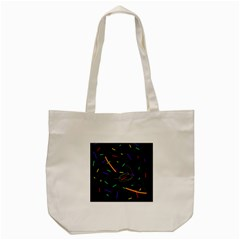 Colorful beauty Tote Bag (Cream)