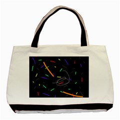 Colorful beauty Basic Tote Bag (Two Sides)