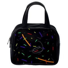 Colorful beauty Classic Handbags (One Side)