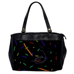 Colorful beauty Office Handbags