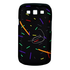 Colorful beauty Samsung Galaxy S III Classic Hardshell Case (PC+Silicone)
