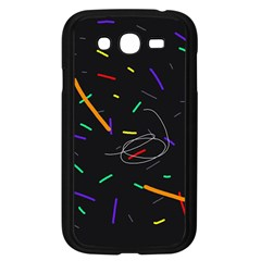 Colorful beauty Samsung Galaxy Grand DUOS I9082 Case (Black)