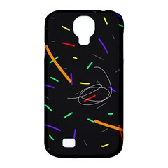 Colorful beauty Samsung Galaxy S4 Classic Hardshell Case (PC+Silicone)