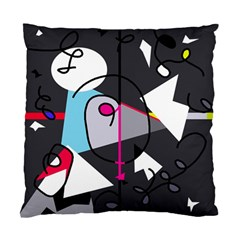 Abstract bird Standard Cushion Case (One Side)