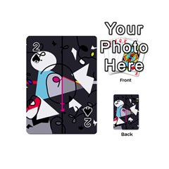 Abstract bird Playing Cards 54 (Mini)
