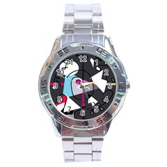 Abstract bird Stainless Steel Analogue Watch