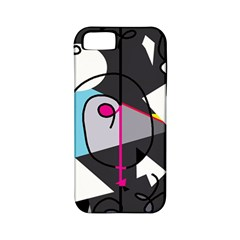 Abstract Bird Apple Iphone 5 Classic Hardshell Case (pc+silicone)