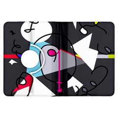 Abstract bird Kindle Fire HDX Flip 360 Case