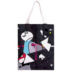Abstract bird Classic Light Tote Bag