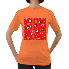 Rainy day - red Women s Dark T-Shirt