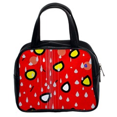 Rainy day - red Classic Handbags (2 Sides)