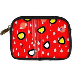 Rainy day - red Digital Camera Cases