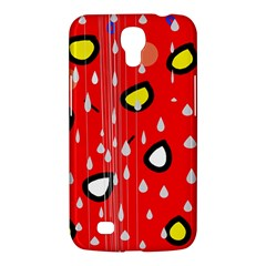 Rainy day - red Samsung Galaxy Mega 6.3  I9200 Hardshell Case