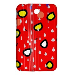 Rainy day - red Samsung Galaxy Tab 3 (7 ) P3200 Hardshell Case