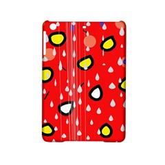 Rainy day - red iPad Mini 2 Hardshell Cases