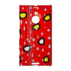 Rainy day - red Nokia Lumia 1520