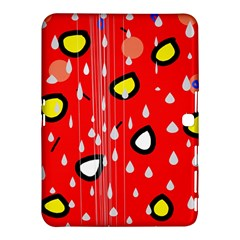 Rainy day - red Samsung Galaxy Tab 4 (10.1 ) Hardshell Case