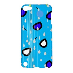 Rainy day - blue Apple iPod Touch 5 Hardshell Case