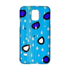 Rainy day - blue Samsung Galaxy S5 Hardshell Case