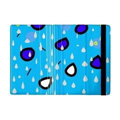 Rainy day - blue iPad Mini 2 Flip Cases