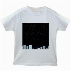 Night Kids White T-Shirts