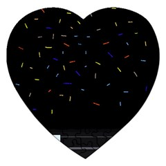 Night Jigsaw Puzzle (Heart)