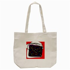 Color TV Tote Bag (Cream)