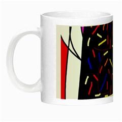 Color TV Night Luminous Mugs