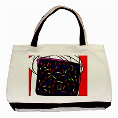 Color TV Basic Tote Bag