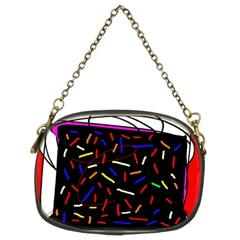 Color TV Chain Purses (Two Sides)