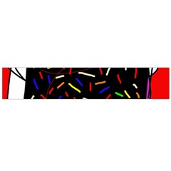 Color TV Flano Scarf (Large)