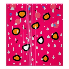 Rainy day - pink Shower Curtain 66  x 72  (Large)