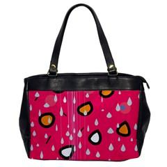 Rainy day - pink Office Handbags