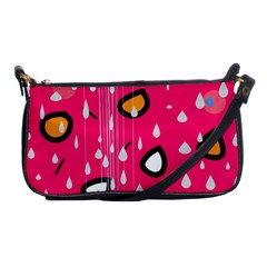 Rainy day - pink Shoulder Clutch Bags