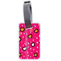 Rainy day - pink Luggage Tags (Two Sides)