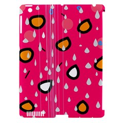 Rainy day - pink Apple iPad 3/4 Hardshell Case (Compatible with Smart Cover)