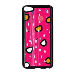Rainy day - pink Apple iPod Touch 5 Case (Black)