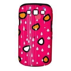 Rainy day - pink Samsung Galaxy S III Classic Hardshell Case (PC+Silicone)