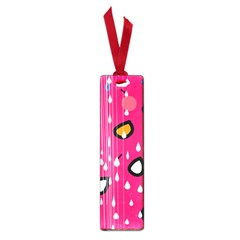 Rainy day - pink Small Book Marks