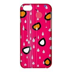 Rainy day - pink Apple iPhone 5C Hardshell Case
