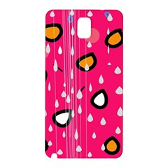 Rainy day - pink Samsung Galaxy Note 3 N9005 Hardshell Back Case